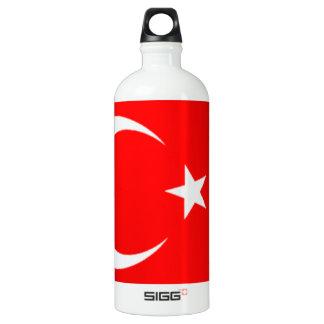 Turkey Flag SIGG Traveler 1.0L Water Bottle