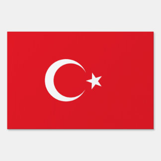 Turkey Flag Sign