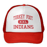 Turkey Foot - Indians - Middle - Edgewood Kentucky Trucker Hat