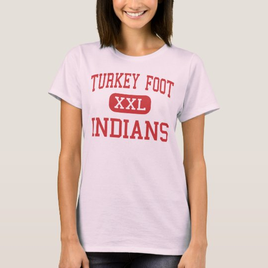 Turkey Foot - Indians - Middle - Edgewood Kentucky T-Shirt