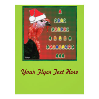 Turkey For Christmas Flyer