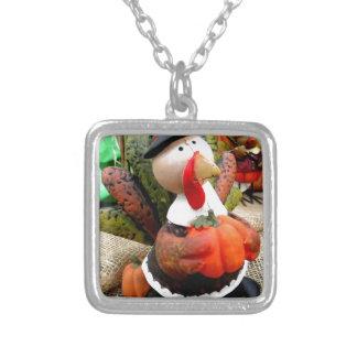 Turkey Gentleman Silver Plated Necklace