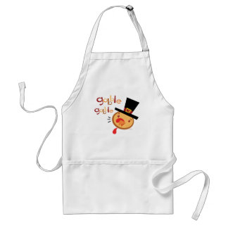 Turkey gobble Gobble Adult Apron