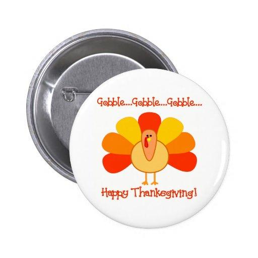 Turkey...Gobble, Gobble Pins