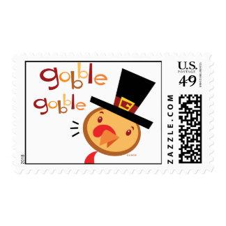 Turkey gobble Gobble Stamp