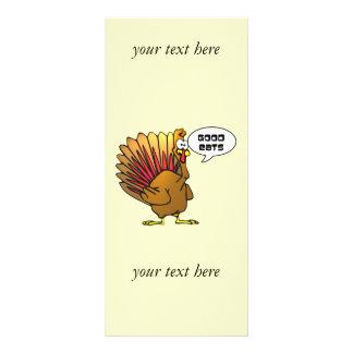 Turkey Good Eats Business Rack Card