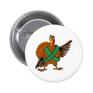 Turkey Humor Pinback Button