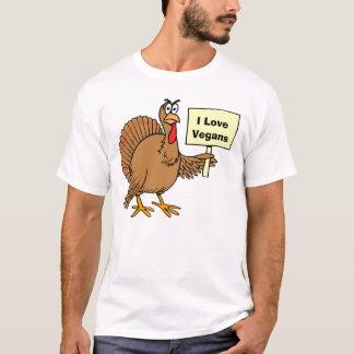 Turkey Humor Vegan Joke T-Shirt
