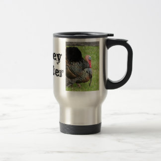 Turkey Hunter 15 Oz Stainless Steel Travel Mug