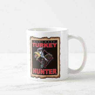 TURKEY HUNTER CLASSIC WHITE COFFEE MUG