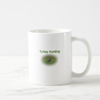 Turkey Hunting Logo Classic White Coffee Mug