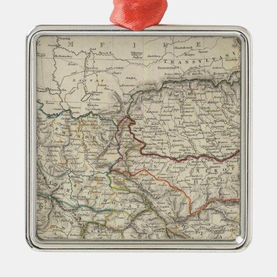 Turkey I, northern Metal Ornament