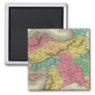 Turkey In Asia 3 2 Inch Square Magnet