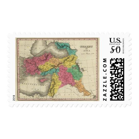 Turkey In Asia 3 Postage