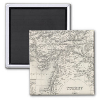 Turkey in Asia 4 2 Inch Square Magnet