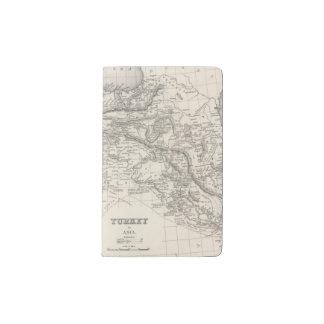 Turkey in Asia 4 Pocket Moleskine Notebook