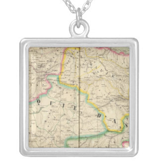 Turkey in Asia 51 Silver Plated Necklace
