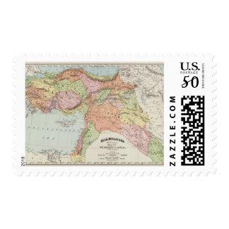 Turkey in Asia 6 Postage