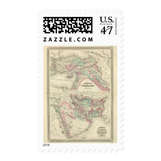 Turkey in Asia, Persia, Arabia, Beloochistan Postage
