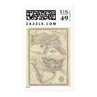 Turkey in Asia, Persia, Arabia, Beloochistan Postage Stamp
