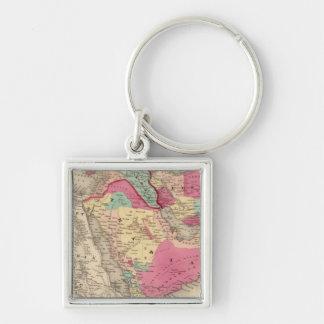 Turkey In Asia Persia Arabiaandc Keychain