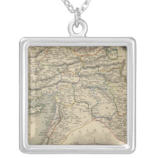 Turkey In Asia Silver Plated Necklace