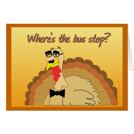 Turkey in Disguise Greeting Card