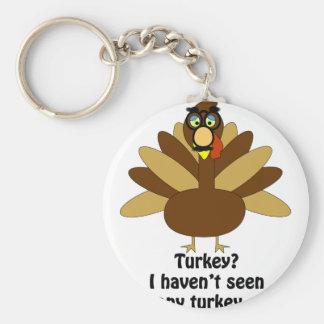 Turkey in Disguise Keychain