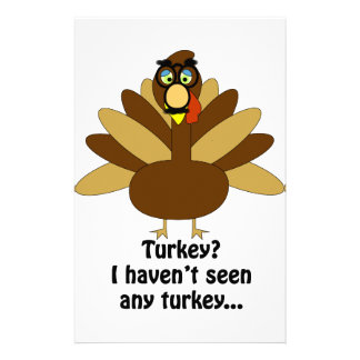Turkey in Disguise Stationery
