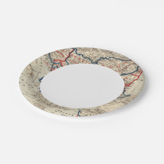 Turkey in Europe 10 7 Inch Paper Plate