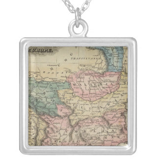 Turkey In Europe 2 Silver Plated Necklace