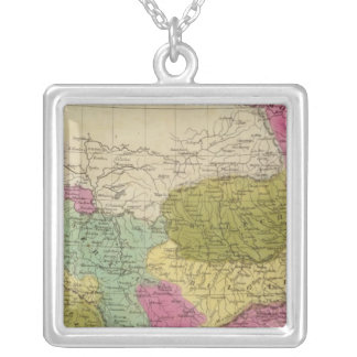 Turkey in Europe 4 Silver Plated Necklace
