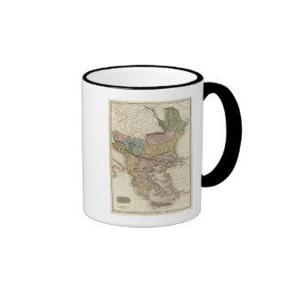 Turkey in Europe 5 Ringer Coffee Mug