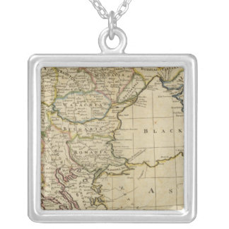 Turkey, in Europe and Hungary 2 Silver Plated Necklace