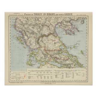 Turkey in Europe, North Greece Poster