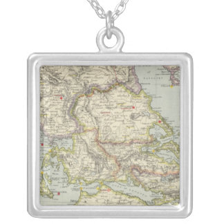 Turkey in Europe, North Greece Silver Plated Necklace
