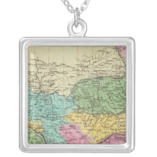 Turkey in Europe Silver Plated Necklace