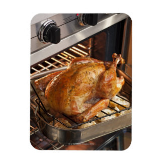 Turkey in oven magnet