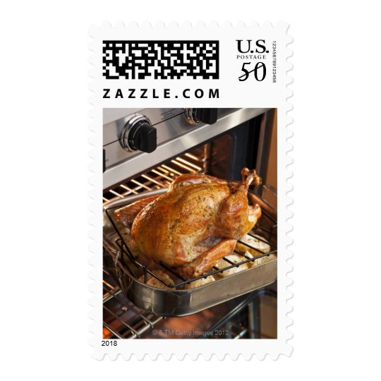 Turkey in oven postage
