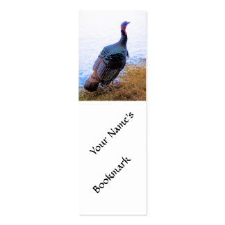Turkey in Snow 1 Business Card Templates