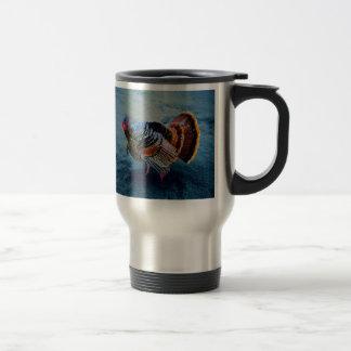 Turkey in Snow 3 Coffee Mugs