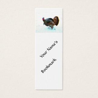 Turkey in Snow 4 Mini Business Card