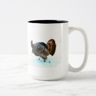 Turkey in Snow 4 Mug