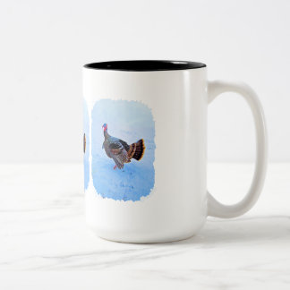 Turkey in Snow 5 Mugs