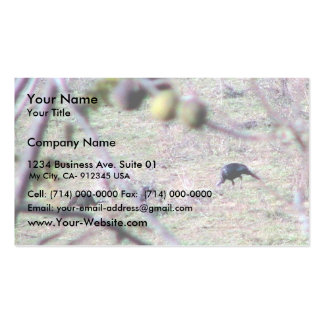 Turkey In The Forest Business Card