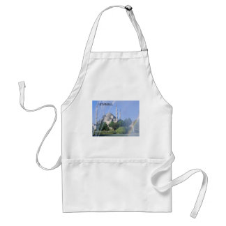 Turkey Istanbul Blue Mosque (St.K) Adult Apron