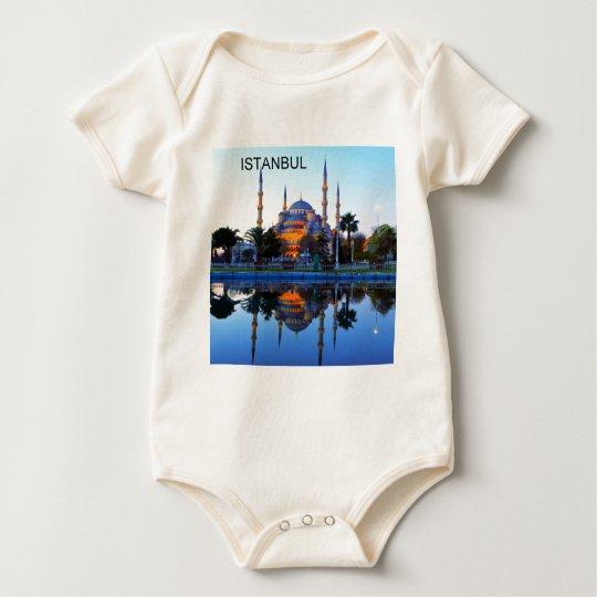 Turkey Istanbul Blue Mosque (St.K) Baby Bodysuit