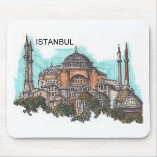 Turkey Istanbul Hagia Sophia (by St.K) Mouse Pad