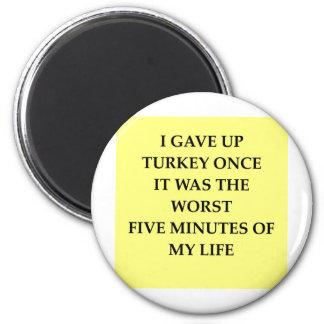TURKEY.jpg 2 Inch Round Magnet