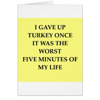 TURKEY.jpg Greeting Card